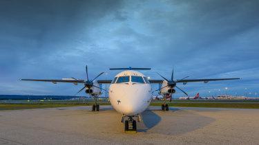 Cobham's new Q400 aircraft.