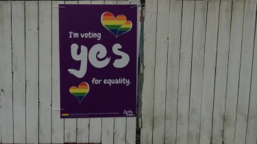 Support for the 'yes' campaign has also been visible in West End.
