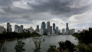 Severe storms were forecast to hit south-east Queensland over the coming three days.