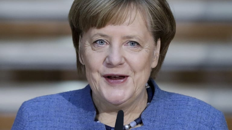 German Chancellor Angela Merkel reached an agreement with the Social Democrats.