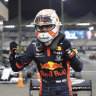Verstappen snatches pole for Abu Dhabi finale
