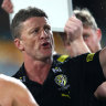 'Farcical': Hardwick blames Swans after 'horrendous game of football'