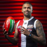 Brad Hill not feeling the pressure after high-priced Saints move