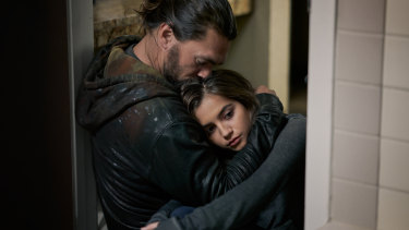 Jason Mamoa and Isabela Merced play a father and daughter out for revenge in Sweet Girl.