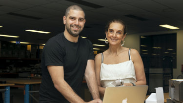 Simon and Michelle Molnar lead online jewellery store Ice Online.