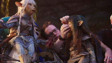 Behind the scenes of creating Dark Crystal for Netflix.