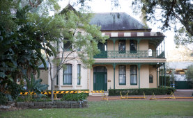 Willow Grove, built in the 1870s, is set to be demolished and rebuilt elsewhere to make way for the Parramatta Powerhouse.