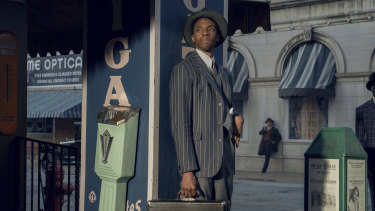 Chadwick Boseman in Ma Rainey's Black Bottom, which has scored multiple SAG nominations.