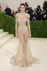 Kendall Jenner's appearance at New York's Met Gala in September made a big impression on Rebecca.