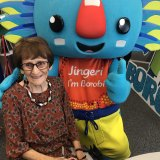 Borobi and Yugambeh Elder Patricia O'Connor.