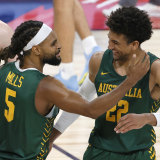Patty Mills and Matisse Thybulle have key roles to play for the Boomers at the Tokyo Olympics.