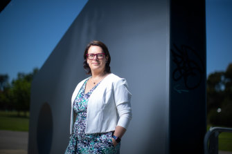 Sandy Pitcher stepped in to help rebuild Victoria's contact management capacity at the height of the second wave.