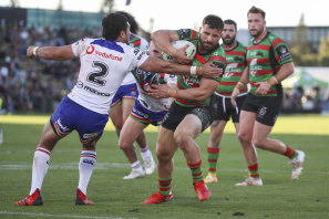 Josh Mansour bagged a double for Souths.