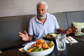 Community and country are central to Ernie Dingo's life - but don't suggest he goes into politics.