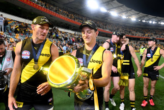 The 2021 AFL grand final, like last year, is most likely to be hosted interstate.