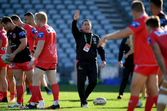 Reports Shane Flanagan's return to the head coaching ranks has been rubber-stamped by head office are off the mark.