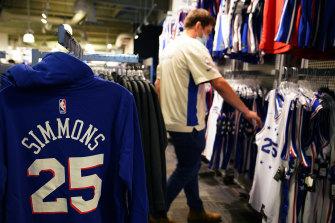 Ben Simmons merchandise.