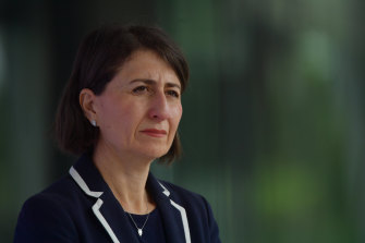 NSW Premier Gladys Berejiklian announced 50 new exposure sites across Sydney and the state on Tuesday.