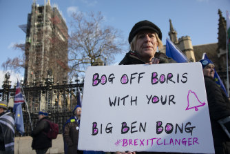 Emotions are still running high over Brexit. Brexiters want Big Ben to chime; others don't.