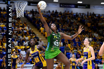 Jhaniele Fowler has been key to Fever's brilliant attack.