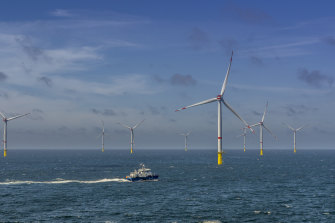The Veja Mate offshore wind farm in Germany is similar to what the Star of the South would be.