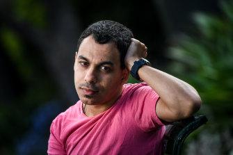 Gay conversion survivor Abanob Saad.