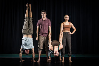 The Na Djinang Circus troupe explore ancient connections between Indigenous people and the land in their new show Arterial.