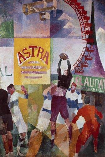 Robert Delaunay's 'The Cardiff Team', (1912-13)