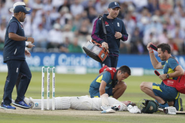 'Rough memories': Smith falls short of ton, but relief after terrifying blow
