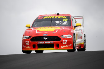 Fabian Coulthard in his Shell V-Power Racing Team Ford at Bathurst.