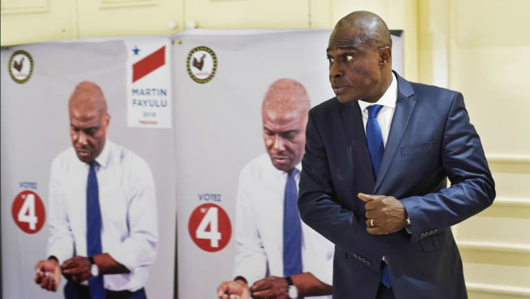 Congolese opposition presidential candidate Martin Fayulu.