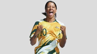 4e058704c  The spew returns   Matildas to make a splash in new World Cup kit