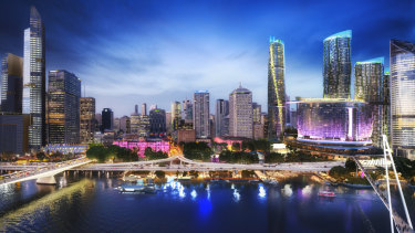 The planned Queen's Wharf development.