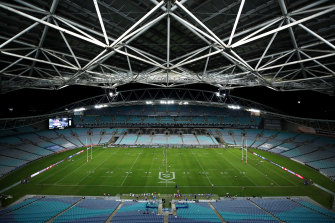 The request for re-allocation of ANZ Stadium funds is set to be denied.