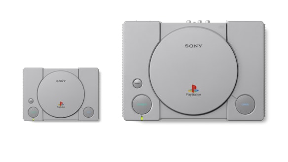 PlayStation Classic: Sony announces a retro micro-console of its own