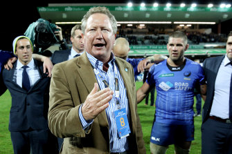 Andrew Forrest has approved a plan that will see the Western Force play alongside its former Super Rugby rivals in a domestic competition starting in July.