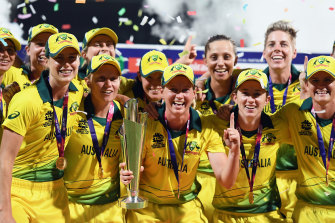 Meg Lanning's Aussies are the defending champions.