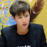 Activist Hong Kong singer faces down China at UN rights body