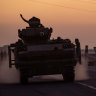 'Human shield' fears from Australians as Turkey ramps up Syria invasion