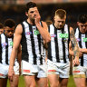 On the road and under the pump, Collingwood adopt a positive approach