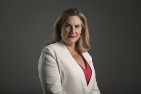 Senator Hollie Hughes has swapped smoking for vaping, and hopes to be off nicotine entirely early next year.