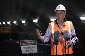 Transport Minister Andrew Constance says he wants to see all vehicles in NSW electrified.