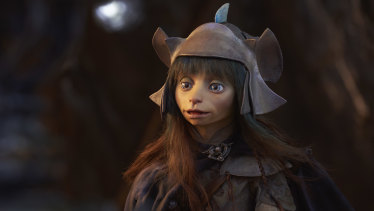 A gelfling from The Dark Crystal.