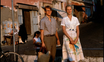 Gwyneth Paltrow shows her 1950s flare in The Talented Mr Ripley