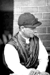 Bobby Lewis, the Cup-winning jockey of 1919. He also won the race in 1902, 1915 and 1927.