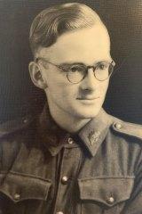 Norman Tulloh during World War II.