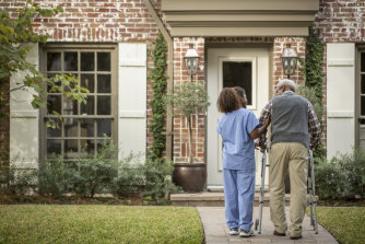 Most older Australians needing home care would prefer not to move in with family.