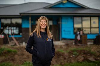 CEO of the Master Builders of Victoria Rebecca Casson.