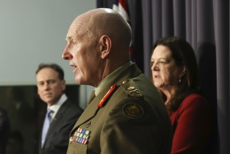 Lieutenant General John Frewen said he's confident all Australians who want one will be able to get a vaccine by the end of the year.