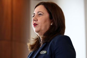 Queensland Premier Annastacia Palaszczuk announces that the state's bid to host the 2032 Olympic Games will go ahead.